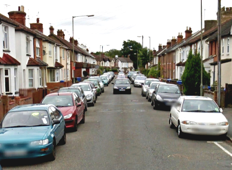 NOT A LOT OF ROOM FOR MANOEUVRE – Arnold Road residents are protesting