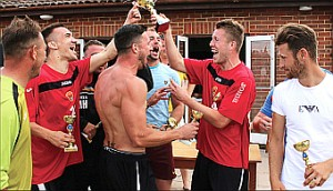 WE'RE CUP FOR IT – Meadow Sports B were crowned cup kings at the annual tournament