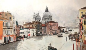 A BRUSH WITH TALENT – outstanding art like Venice (©Ryan Mumford)