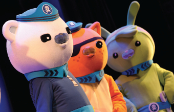 DIVE RIGHT IN – join the fun with some of CBeebies' biggest names this month