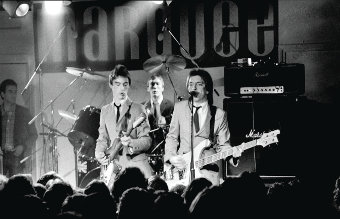 ON SONG – The Jam at the Marquee Club in 1978 (Picture by Jill Furmanovsky)