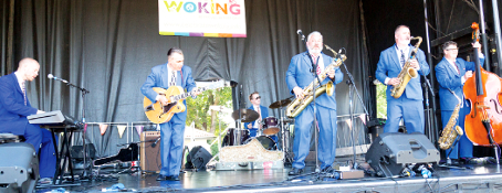 BOYS IN BLUE – King Pleasure and the Biscuit Boys' sounds put Party in the Park punters in the mood