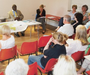 TOUGH Q&A – Planning Policy Manager at Woking Borough Council Ernest Amoako recently fielded questions from Mayford residents