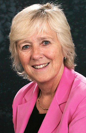 CRACKDOWN – Cllr Beryl Hunwicks welcomes the convictions for both littering and smoking