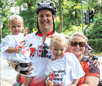 FAMILY AFFAIR – the races attracted bike fans of all ages
